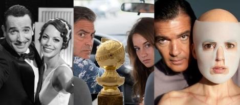 The Artist, The Descendants (Los descendientes) y La piel que habito, en la carrera por el Globo de Oro