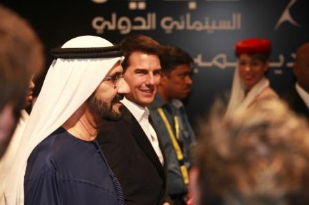 Tom Cruise en la inauguración del Festival de Cine Internacional de Dubai ©DubaiFilmFest.com