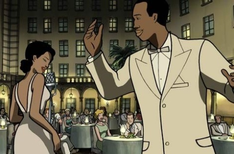 Rita y Chico, en una imagen de la película