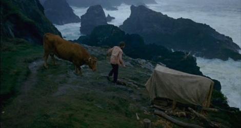 Sergio Zearreta, el co-protagonista de Crebinsky, en una escena de la película