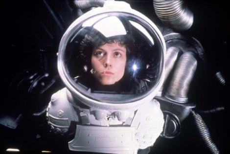En 'Alien, el octavo pasajero' Scott proporciona el protagonismo a la teniente Ripley (Sigourney Weaver) y a un misterioso y agresivo extraterrestre