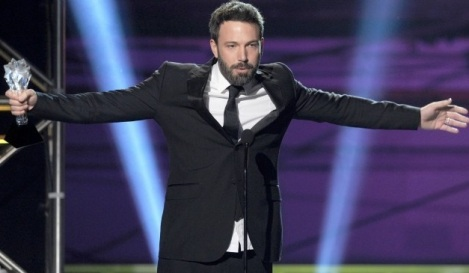 Ben Affleck recoge su Critics' Choice Award por 'Argo'